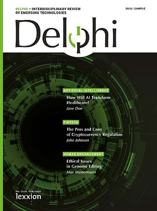Delphi - Interdisciplinary Review of Emerging Technologies
